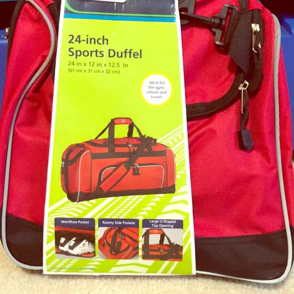 "f81d5aa452 Protege 24"" sports duffel bag"